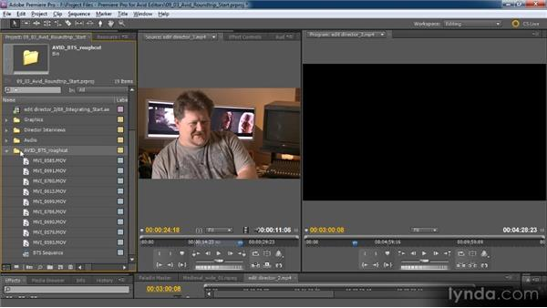Round-tripping with Avid Media Composer: Premiere Pro CS5 for Avid Editors