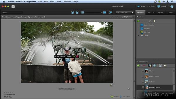 Using People Recognition: Up and Running with Photoshop Elements 9