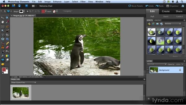 Understanding layers: Up and Running with Photoshop Elements 9