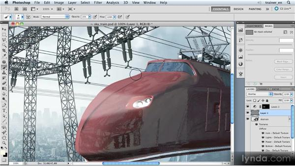 Brightening the edge: Photoshop Artist in Action: Uli Staiger's Skytrain