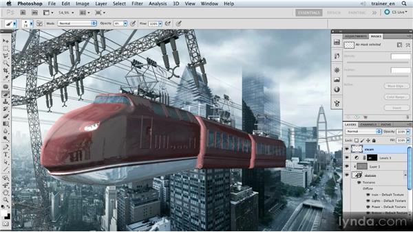Painting in steam: Photoshop Artist in Action: Uli Staiger's Skytrain