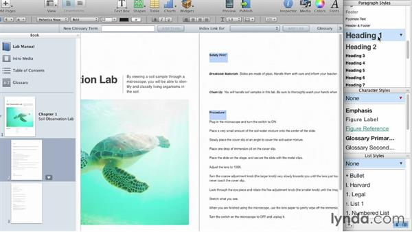 Welcome: iBooks Author for Teachers: Creating a Lab Manual