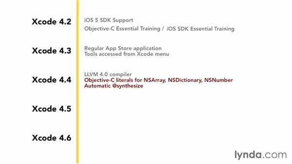 Changes to Xcode: iOS 6 SDK New Features