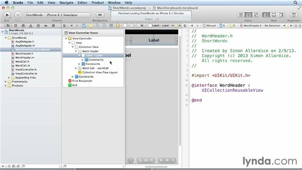 Adding headers and footers to a collection view: iOS 6 SDK New Features