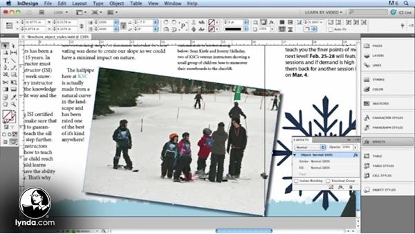 Welcome: Up and Running with Styles in InDesign CS5