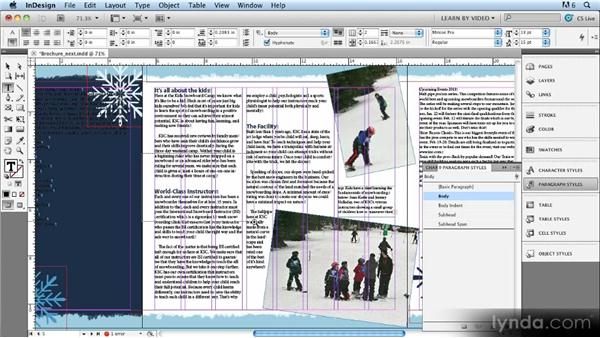 Next Style: Up and Running with Styles in InDesign CS5