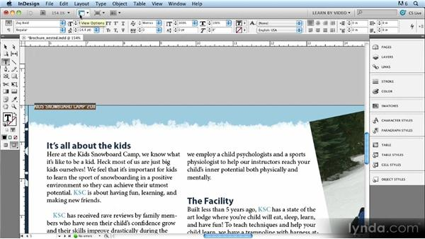 Nested styles: Up and Running with Styles in InDesign CS5