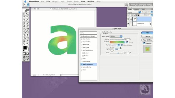 overlays: Photoshop CS Essential Training