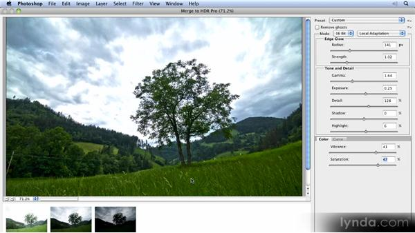 High dynamic range: Photoshop CS5 New Features Overview