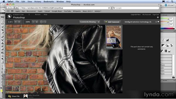 CS Review: Online commenting: Photoshop CS5 New Features Overview