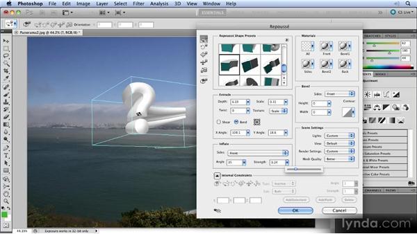 Adobe Repoussé: Photoshop CS5 New Features Overview