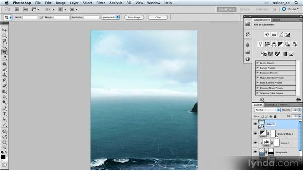 Adding more sky: Photoshop Artist in Action: Uli Staiger's Balloonatic