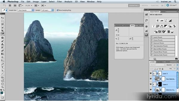 Adding haze with a Curves adjustment: Photoshop Artist in Action: Uli Staiger's Balloonatic