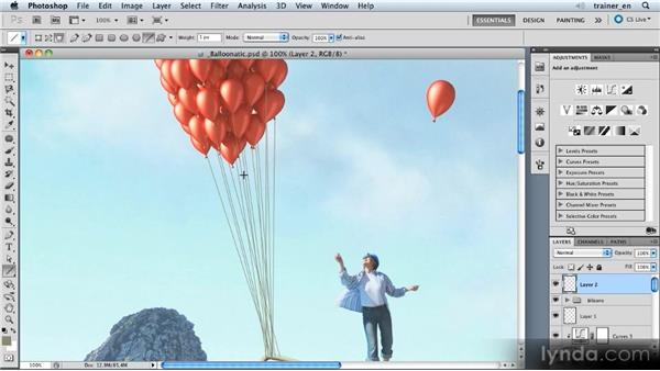 Drawing the strings: Photoshop Artist in Action: Uli Staiger's Balloonatic