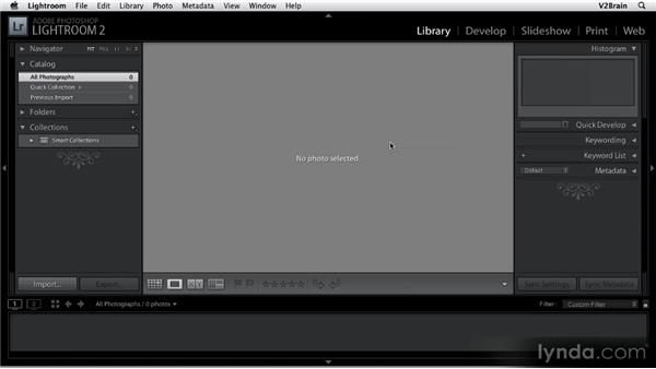 Brief overview of Lightroom: Getting Started with Lightroom 2