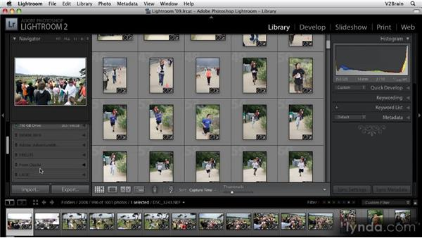 Getting to know the Library module: Part 1: Getting Started with Lightroom 2