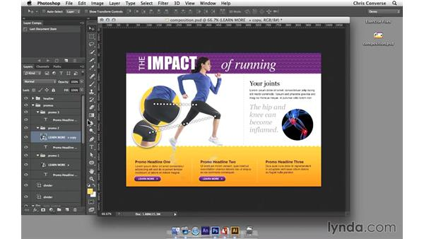 Introduction to Smart Objects in Photoshop: Design the Web: Smart Objects