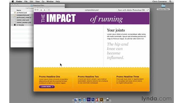 About the exercise files: Design the Web: Smart Objects
