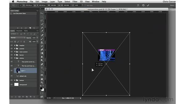 Creating Smart Objects from JPEG files: Design the Web: Smart Objects