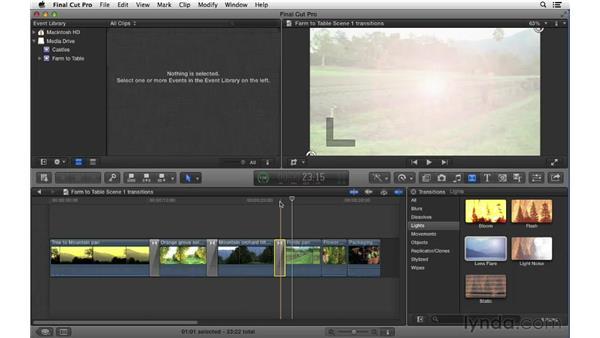: Final Cut Pro X 10.0.9 Essential Training