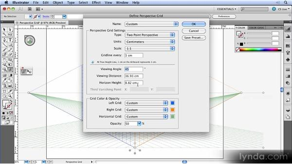 The perspective grid: Illustrator CS5 New Features Overview