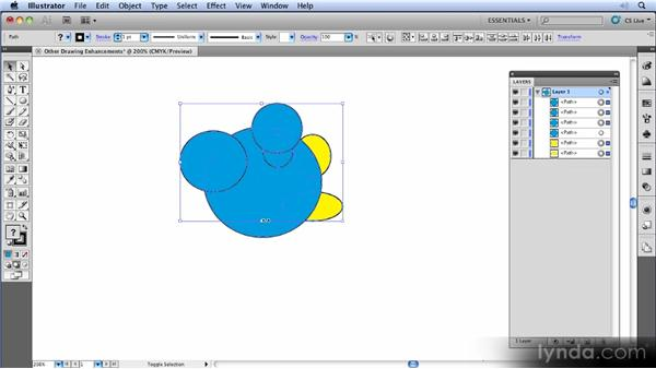 Drawing modes: Illustrator CS5 New Features Overview