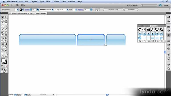 Symbol enhancements: Illustrator CS5 New Features Overview