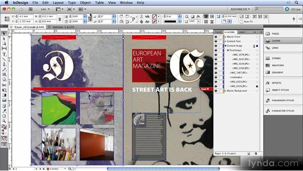 The new Layers panel: InDesign CS5 New Features Overview
