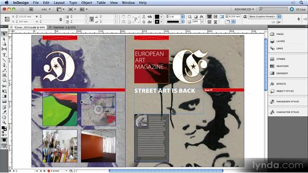 The content indicator: InDesign CS5 New Features Overview