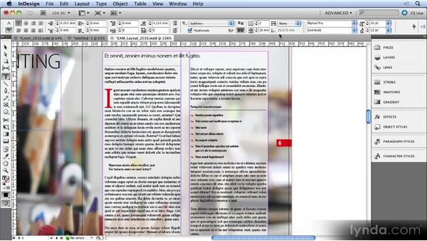 Paragraphs that span columns: InDesign CS5 New Features Overview