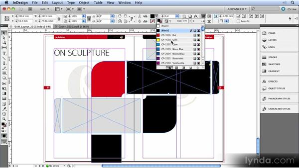 Swatches in the Control panel: InDesign CS5 New Features Overview