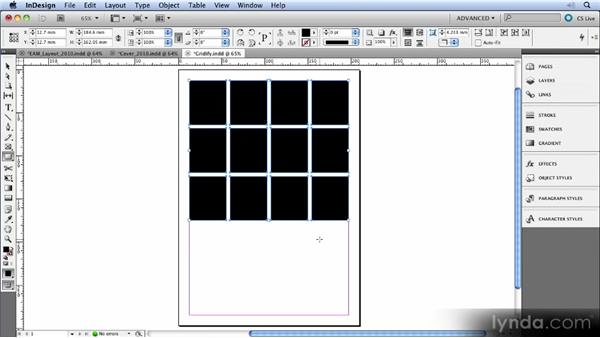 Gridified tools: InDesign CS5 New Features Overview