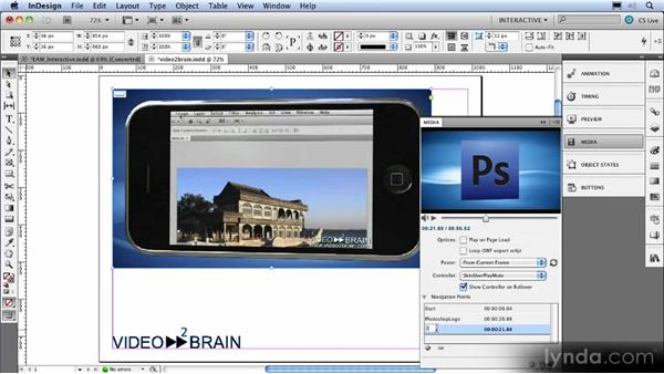 FLV and MP3 import and the Media panel: InDesign CS5 New Features Overview