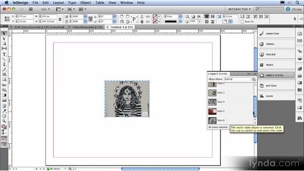 The Object States panel: InDesign CS5 New Features Overview