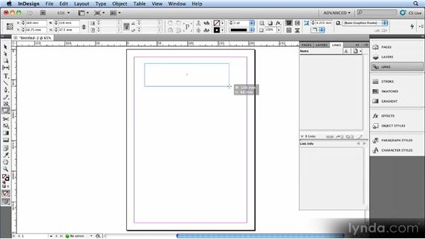 Working with InDesign artwork: Creating Ebooks with InDesign CS4 or CS5