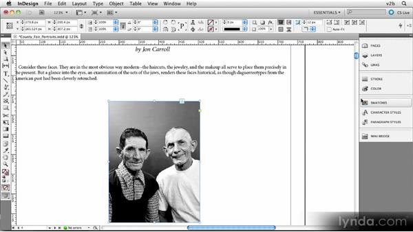 Adding inline graphics with captions: Creating Photography Ebooks