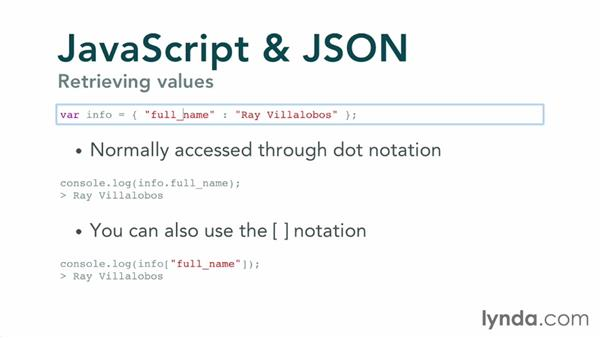 Welcome: JavaScript and JSON