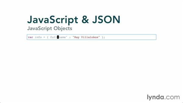 Understanding objects and JSON
