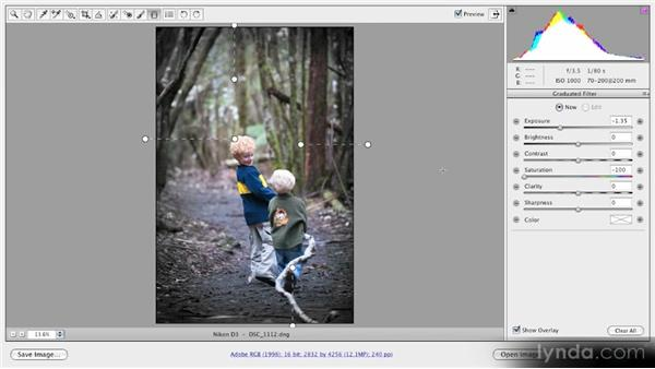 Creating a super vignette: Getting Started with Adobe Camera Raw 5
