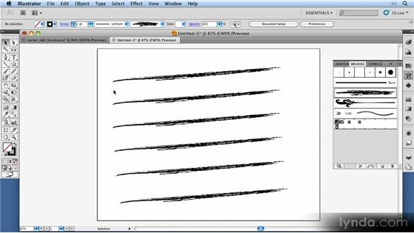 Editing brushes: 11 Things Every Beginner Needs to Learn to Love Illustrator