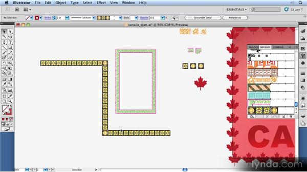 Making unique borders: 11 Things Every Beginner Needs to Learn to Love Illustrator