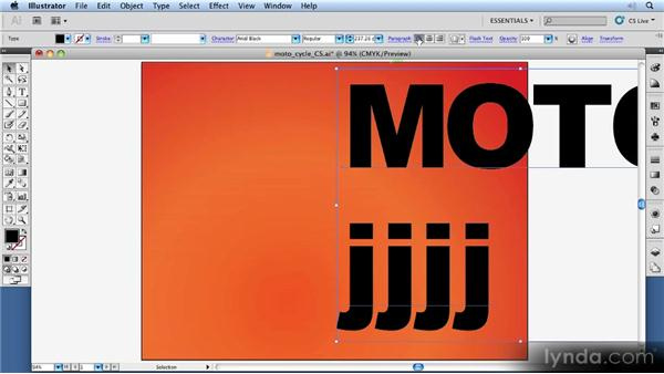 Point vs. area type: 11 Things Every Beginner Needs to Learn to Love Illustrator