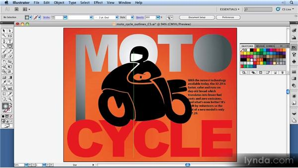 Creating outlines: 11 Things Every Beginner Needs to Learn to Love Illustrator