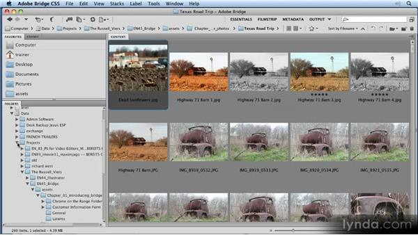 Changing and creating workspaces: 11 Tricks for Faster Photo Processing with Bridge and Photoshop