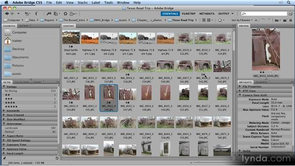 Ranking and labeling: 11 Tricks for Faster Photo Processing with Bridge and Photoshop