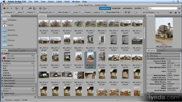 Rejecting vs. deleting: 11 Tricks for Faster Photo Processing with Bridge and Photoshop