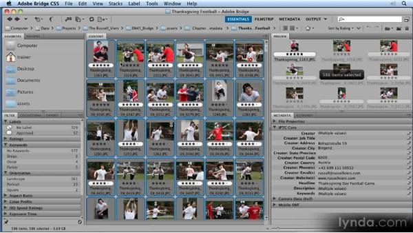 Using metadata templates: 11 Tricks for Faster Photo Processing with Bridge and Photoshop