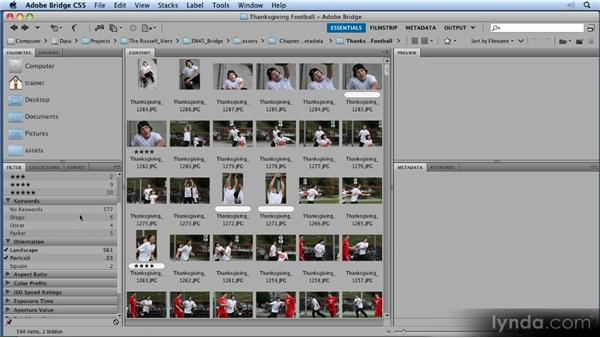 Narrowing your choices: 11 Tricks for Faster Photo Processing with Bridge and Photoshop