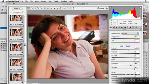Cropping images in Camera Raw: 11 Tricks for Faster Photo Processing with Bridge and Photoshop