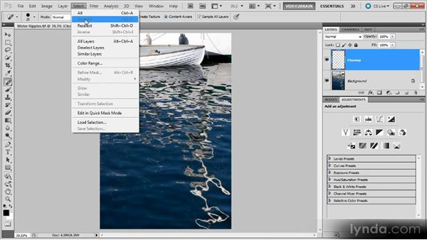 Using Deselect, Reselect, and Hide: Photoshop Selections Workshop